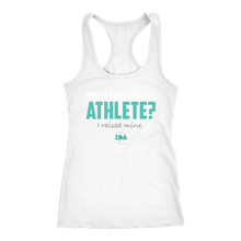 Load image into Gallery viewer, Women's IDA Favorite Athlete Racerback Tank