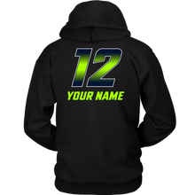 Load image into Gallery viewer, Adult Copper Hills Grizzlies Lacrosse Personalized Hoodie