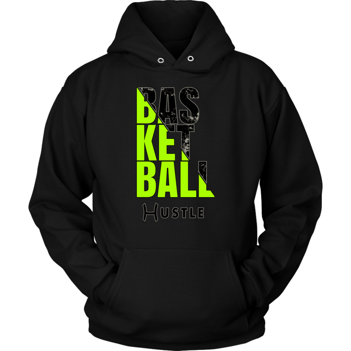 Adult Hustle Basketball Personalized Hoodie