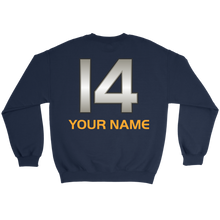 Load image into Gallery viewer, Adult Wheelin' Jazz Personalized Sweatshsirt