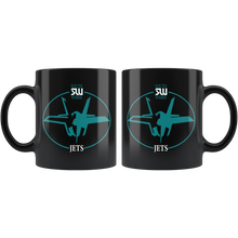 Load image into Gallery viewer, Official South Weber Jets Mug (Black)