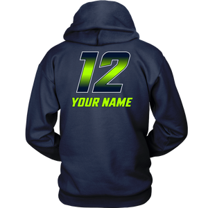 Adult Copper Hills Grizzlies Lacrosse Personalized Hoodie