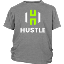 Load image into Gallery viewer, Youth Utah Hustle T-Shirt (Black & Grey)