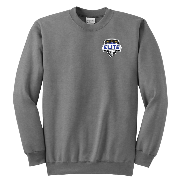 Youth Elite Fanwear Crewneck Sweatshirt