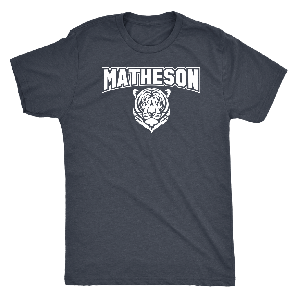 Men's Matheson Junior High School Tigers Triblend T-Shirt