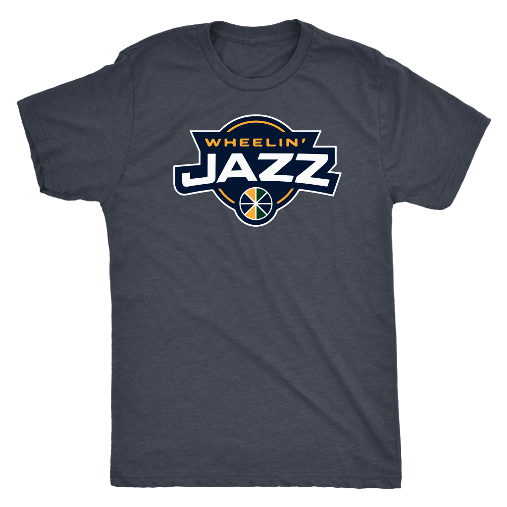 Men's Wheelin' Jazz Triblend T-Shirt