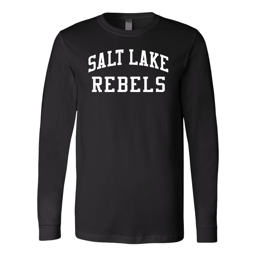 Adult Salt Lake Rebels Long Sleeve Fanwear Shirt