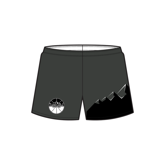 Men's Powder League Reversible Basketball Short