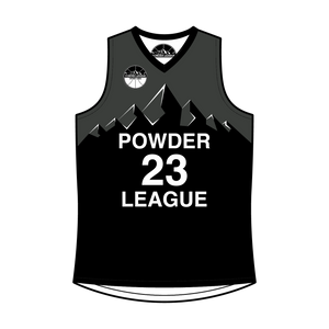 Men's 2020 Powder League Reversible Basketball Jersey