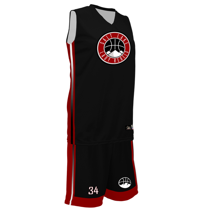 Women's Salt Lake Lady Rebels Reversible Game Uniform