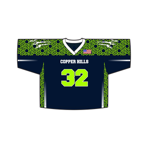 Youth Copper Hills Lacrosse Reversible Game Jersey