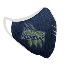 Load image into Gallery viewer, Copper Hills Lacrosse Premium Fitted Face Cover