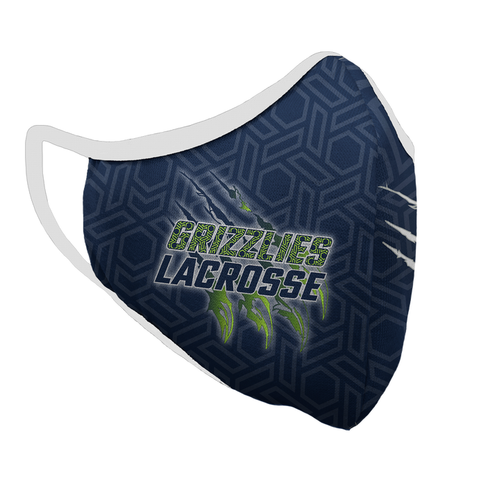 Copper Hills Lacrosse Premium Fitted Face Cover