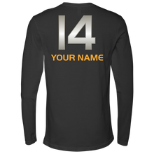 Load image into Gallery viewer, Adult Wheelin' Jazz Personalized Long Sleeve Shirt