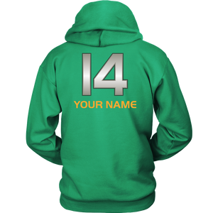 Adult Wheelin' Jazz Personalized Hoodie