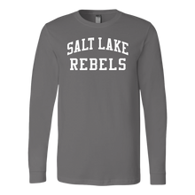 Load image into Gallery viewer, Adult Salt Lake Rebels Long Sleeve Fanwear Shirt