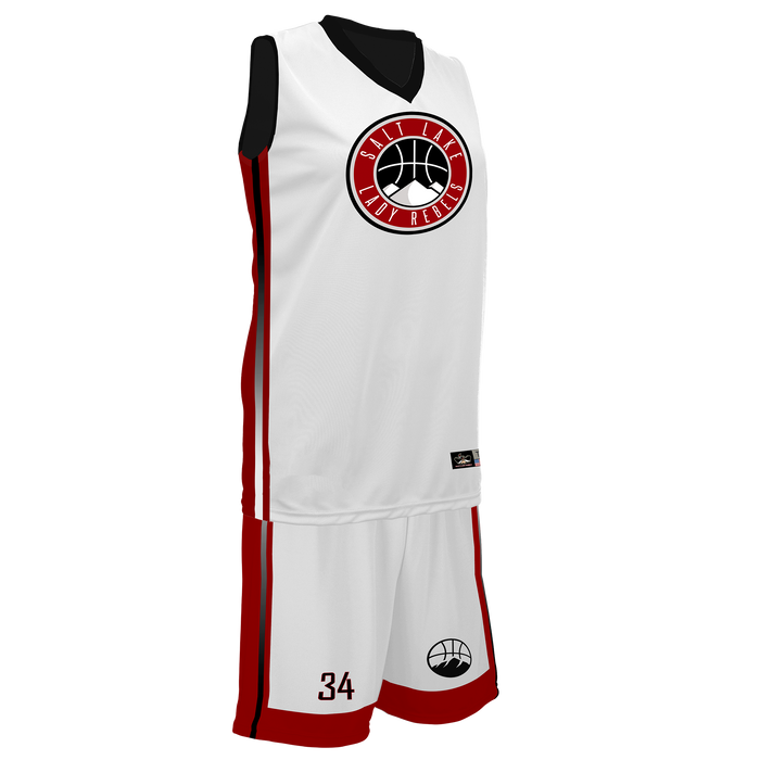 Youth Salt Lake Lady Rebels Reversible Game Uniform