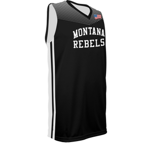Youth Montana Rebels Reversible Game Jersey