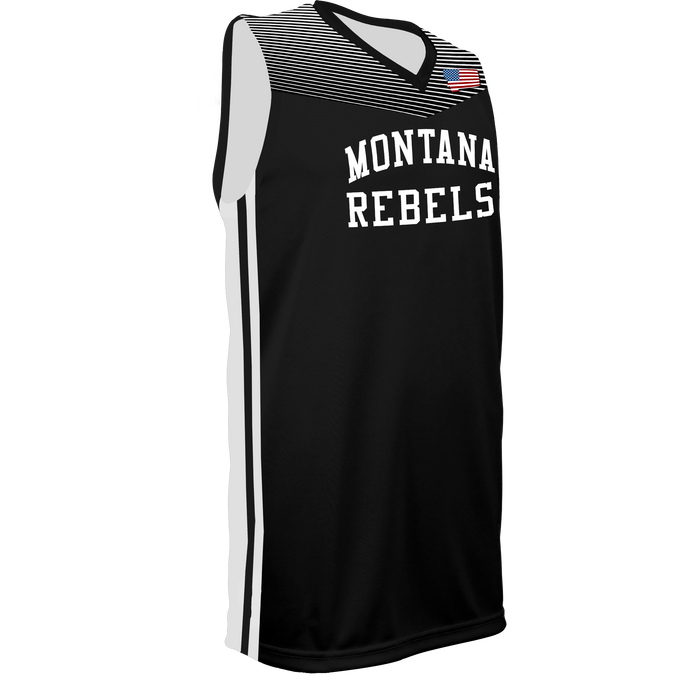 Men's Montana Rebels Reversible Basketball Jersey