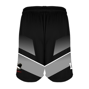 Men's Montana Rebels Reversible Basketball Short