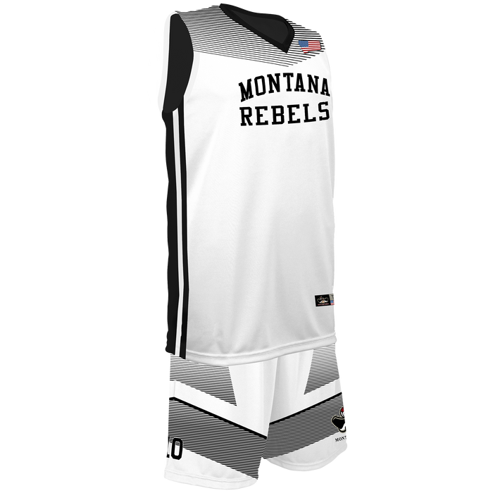 Youth Montana Rebels Reversible Game Uniform