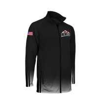 Load image into Gallery viewer, Men's Montana Rebels Full Zip Warm-Up Jacket with Personalization