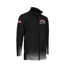 Men's Montana Rebels Full Zip Warm-Up Jacket with Personalization