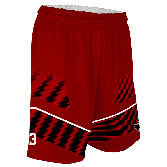 Men's SLC Rebels Reversible Basketball Short