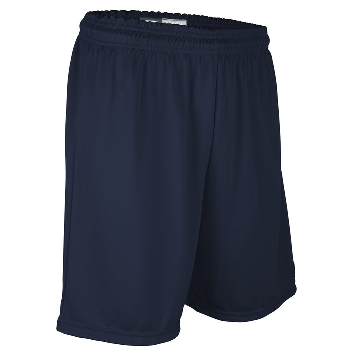 Men's Solid Navy 7 Inch Short