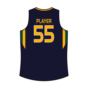 Official Wheelin' Jazz Away Game Basketball Jersey