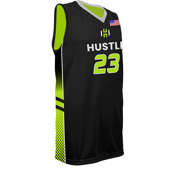 Youth Utah Hustle Reversible Basketball Jersey