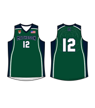 Load image into Gallery viewer, Men's Matheson Junior High School Reversible Basketball Jersey