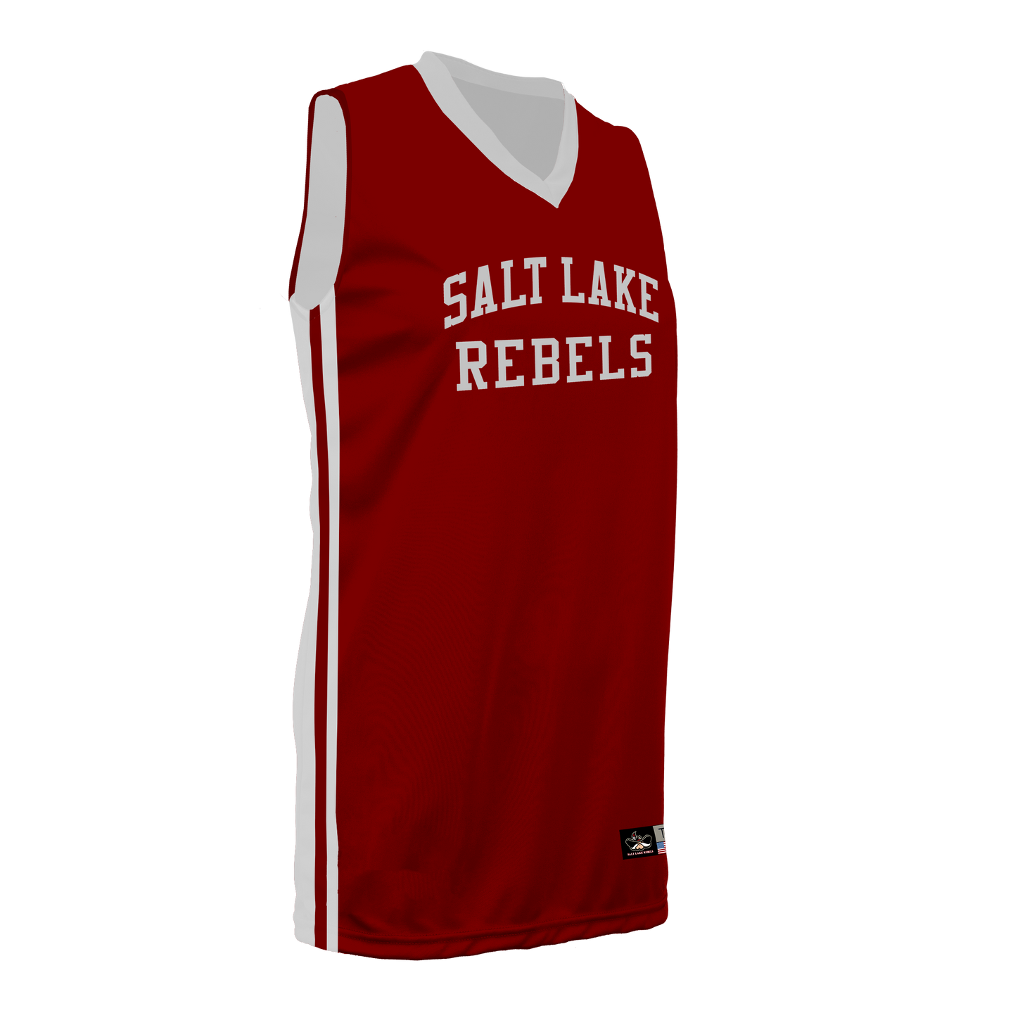 Youth SLC Rebels Reversible RED-WHITE Basketball Jersey