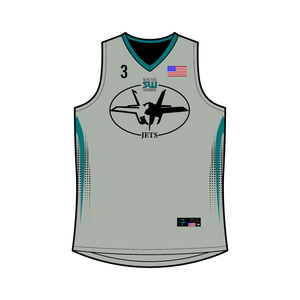 Youth South Weber Jets Reversible Basketball Jersey