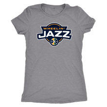 Load image into Gallery viewer, Women's Wheelin' Jazz Triblend T-Shirt