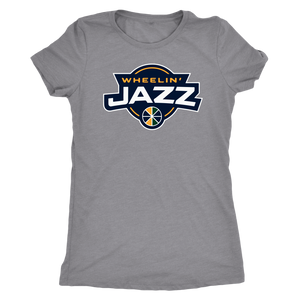 Women's Wheelin' Jazz Triblend T-Shirt