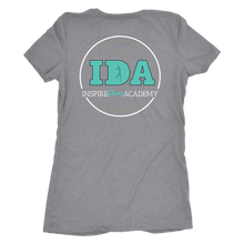 Load image into Gallery viewer, Women's IDA Staff Dance, Lipstick & Rhinestones Premium Tri-Blend T-Shirt