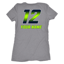 Load image into Gallery viewer, Women's Triblend Copper Hills Grizzlies Lacrosse Personalized T-Shirt