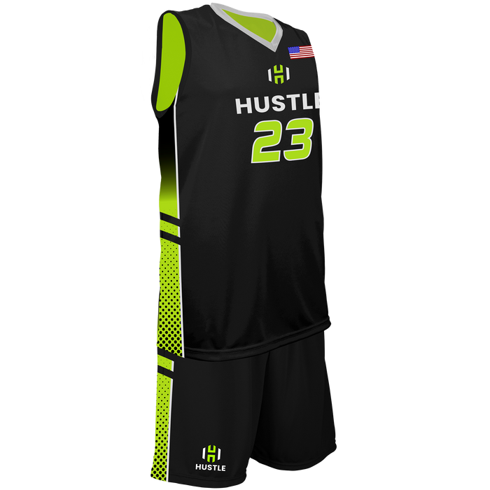 Youth Utah Hustle Reversible Game Uniform
