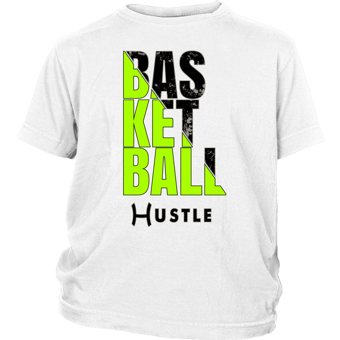 Youth Hustle Basketball Personalized T-Shirt