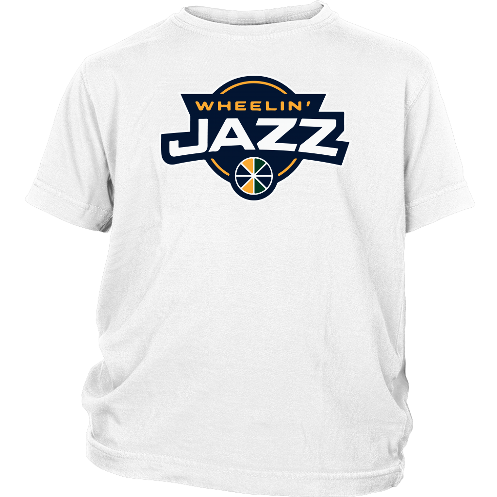 Youth Wheelin' Jazz Personalized T-Shirt