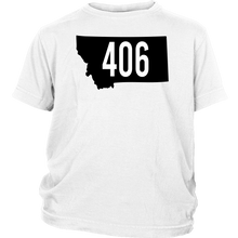 Load image into Gallery viewer, Youth Montana Rebels 406 T-Shirt