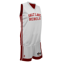 Load image into Gallery viewer, Youth SLC Rebels Reversible RED-WHITE Game Uniform