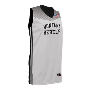 Youth Montana Lady Rebels Reversible Game Jersey