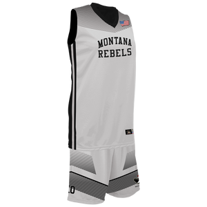 Youth Montana Lady Rebels Reversible Game Uniform