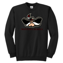 Load image into Gallery viewer, Youth Montana Rebels Cowboy Sweatshirt
