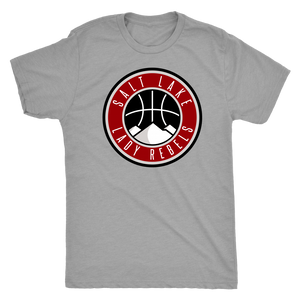 Men's Salt Lake Lady Rebels Premium Triblend Heather T-Shirt