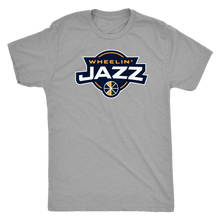 Load image into Gallery viewer, Men's Wheelin' Jazz Triblend T-Shirt