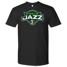 Load image into Gallery viewer, Premium Men's Wheelin' Jazz Wheelin' T-Shirt