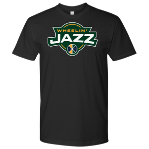 Premium Men's Wheelin' Jazz Wheelin' T-Shirt